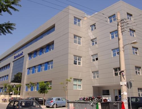 Eurobank bank building, Tavros, Attiki, Greece (2008)